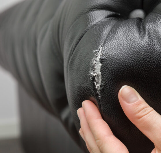 leather couch tear repair cape cod